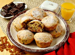 Come preparare i muffin all'uvetta