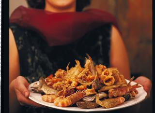 Come servire la frittura di pesce
