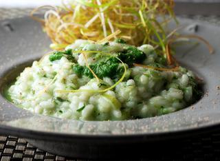 Ricetta: risotto con crema di lattuga