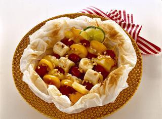 Come preparare la frutta al cartoccio
