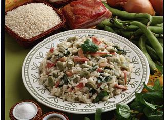 Come preparare il risotto con fave e basilico