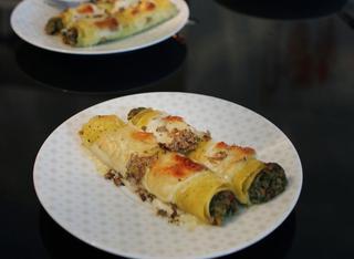 Ricetta: cannelloni al ragù bianco
