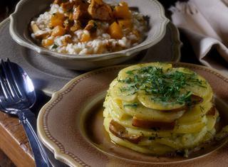 Ricetta: sformato di patate e pesto