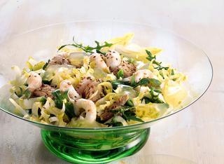 Ricetta: insalata di scampi al limone