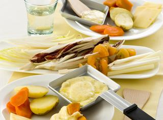 Ricetta: raclette con verdure