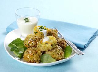 Crocchette di riso con verdure