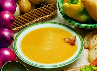 Ricetta: crema di patate e peperoni