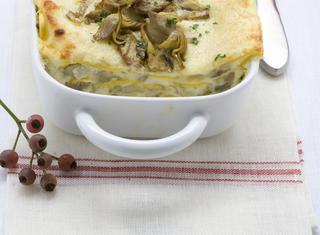 Ricetta: lasagne ai carciofi e besciamella
