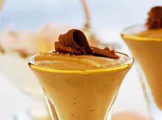 Mousse di cioccolato al latte