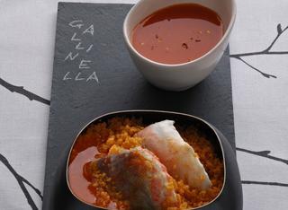Risultati immagini per immagine zuppa di gallinella con cous cous