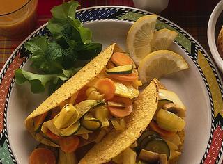 Come preparare tacos vegetariani
