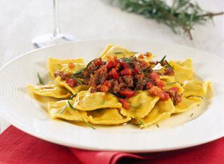 Ricetta: ravioli al vino rosso