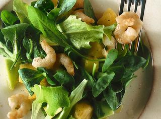 Ricetta: insalata di avocado e gamberi