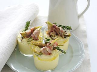 Ricetta: polenta con carciofi