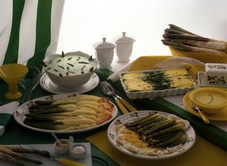 Ricetta: asparagi con salsa chantilly