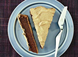 Ricetta: torta soffice di albumi al cioccolato