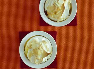 Uova dolci in cocotte ai lamponi