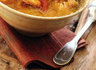 Come preparare la zuppa di scampi