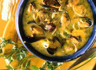 Ricetta: zuppa di cozze piccante