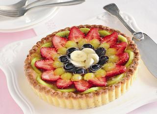 Ricetta: crostata di frutta in gelatina di spumante