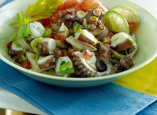Ricetta: insalata di polpo agli agrumi