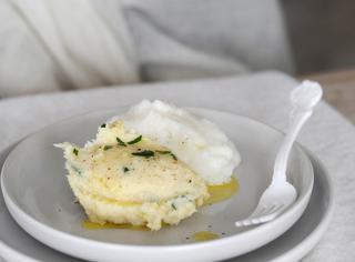 Come fare la polenta bianca al baccalà
