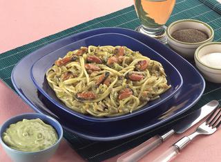 Ricetta: spaghetti con guacamole