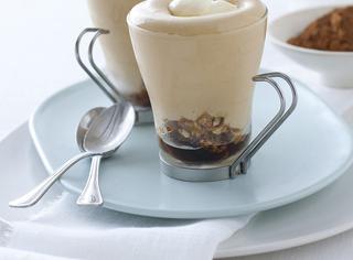 Ricetta: mousse di caffè con spuma al mascarpone
