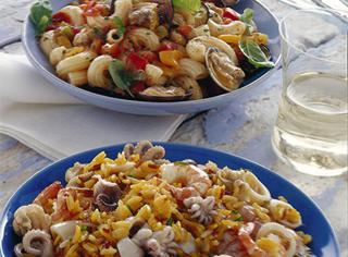 Ricetta: insalata di riso ai frutti di mare