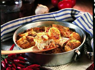 Come preparare la tortiera di baccalà e patate