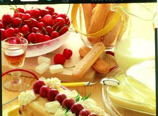 Ricetta: semifreddo di ciliegie
