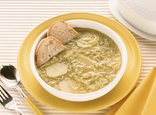 Ricetta: minestra con i porri