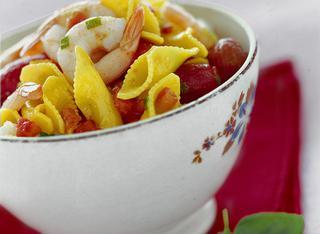 Come preparare gli scampi pomodoro e basilico