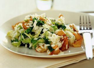 Risotto di patate e verza