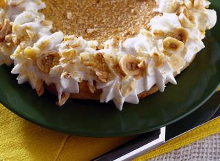 Torta con panna e miele