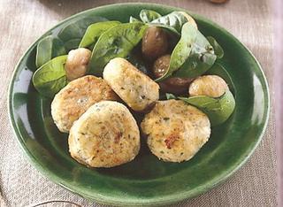 Polpettine di castagne vegetariane