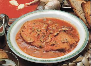 Zuppa di telline
