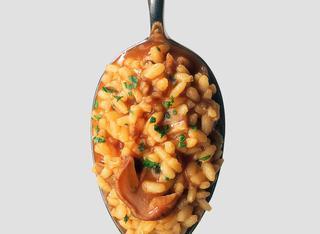 Ricetta Risotto con champignon e pomodoro