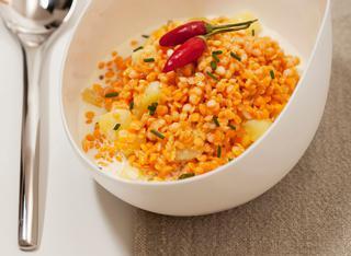 Ricetta Lenticchie al curry