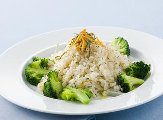 Ricetta Riso al vapore con broccoletti