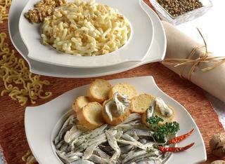 Ricetta Crostini bianchi con acciughe marinate