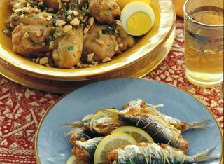 Ricetta Pollo alle mandorle (Algeria)