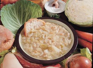 Ricetta Zuppa di broccoli e cappucci