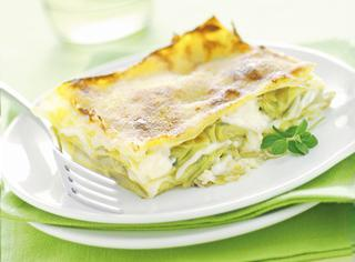 Ricetta Lasagne con carciofi e salsa Mornay