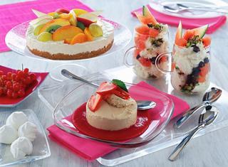 Ricetta Coppe di gelato allo yogurt