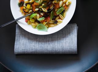 Gnocchetti sardi con mix di verdure