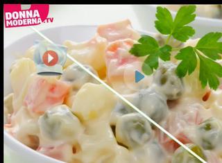 Video ricetta: Insalata russa