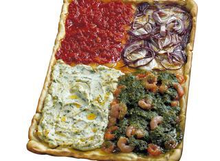 Ricetta Pizza quattro gusti