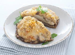 Ricetta Funghi porcini gratinati in forno