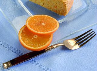 Torta soffice di arance